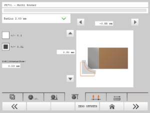 Sprint grafické nastavenie nástroja