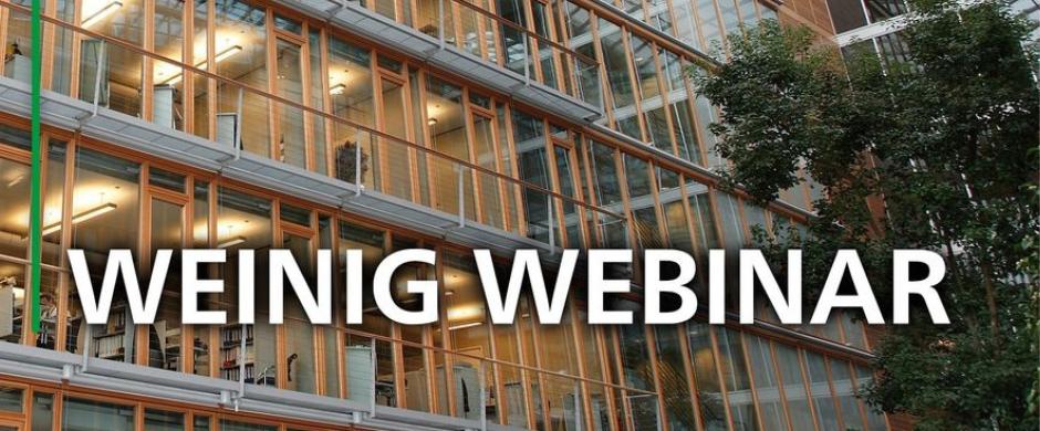 Weinig Webinar Web Kral